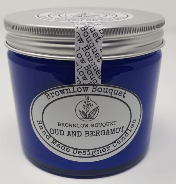 Oud and Bergamot Candle Pack Shot Medium