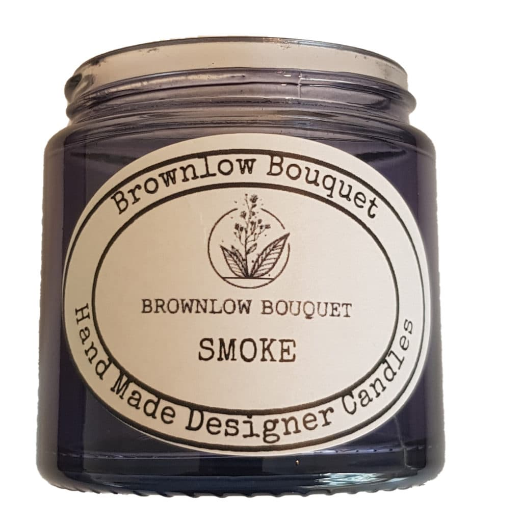 Custom Colour Translucent Gloss Smoke Jar with Label